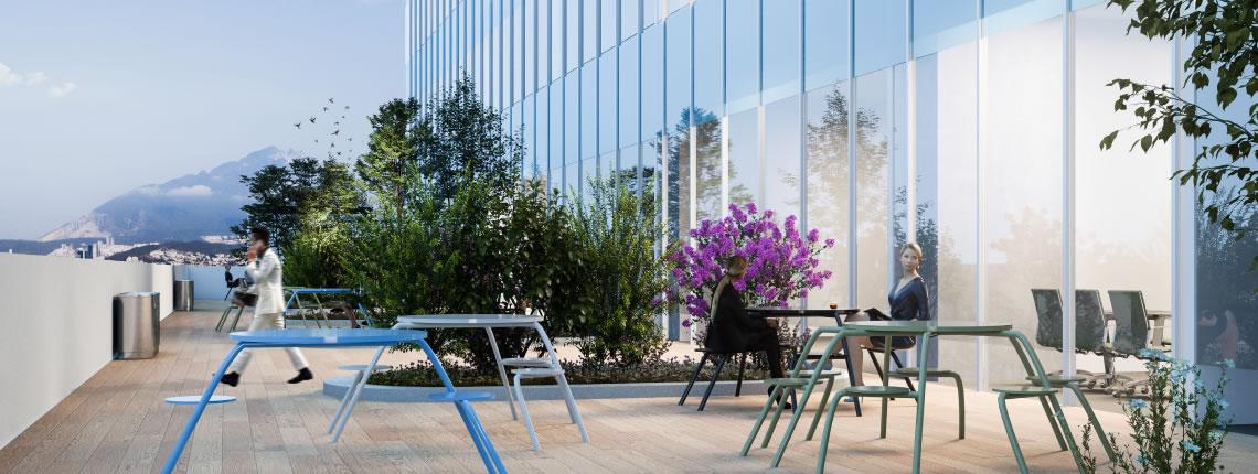 Oficinas en venta en el Centro de Monterrey
